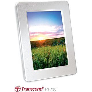 """7,0"""" (17,78cm) Transcend Digitaler Fotorahmen PF730 800x600 2048MB Weiß"""