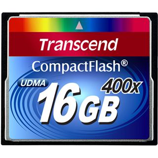 16 GB Transcend Standard Compact Flash TypI 400x Retail