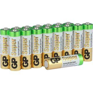 GP Batteries Batterie GP Alkaline AA 16er