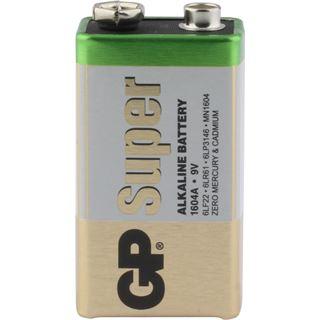 GP Batteries Batterie GP Alkaline 9V