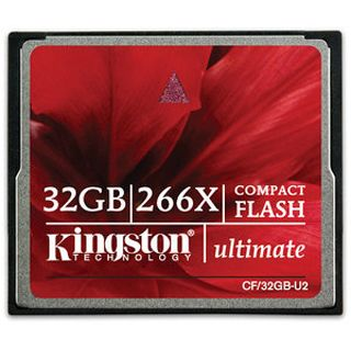 32 GB Kingston Ultimate Compact Flash TypI 266x Retail