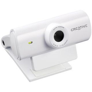 Creative Web Kamera Live Cam Sync 0.5 MPixel 800x600 Weiß USB 2.0