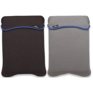 """Manhattan Notebook Sleeve 14.1"""" (35,81cm) Schwarz / Grau"""