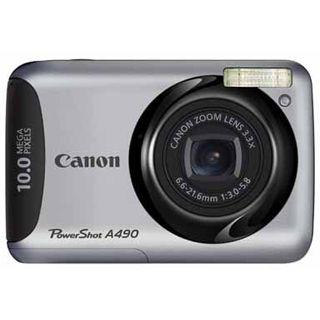 Canon Powershot A490 Digitalkamera Silber