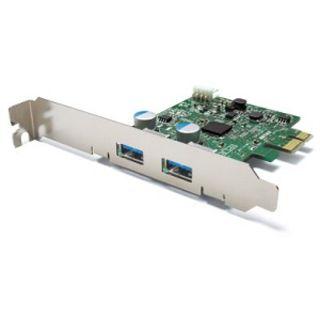 Buffalo IFC-PCIE2U3, 2x USB 3.0, low profile, PCIe x1