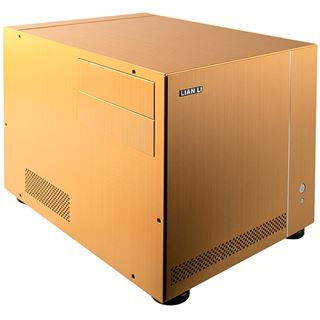 µATX Lian Li Media PC-V351G Cube HTPC Gold