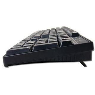 KeySonic KSK-8003UX USB Deutsch schwarz (kabelgebunden)