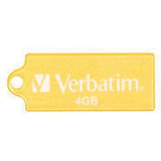 4 GB Verbatim Store `n` Go Micro gelb USB 2.0