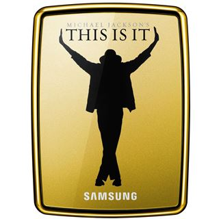 500GB Samsung S2 Portable Michael Jackson Design