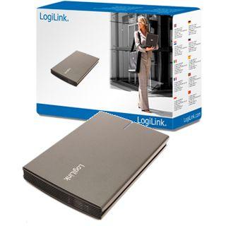 "2.5""(6,35cm) LogiLink UA0084 Alu SATA USB 3.0 Grau"
