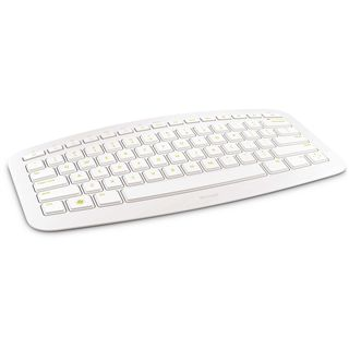 Microsoft Arc Keyboard USB Deutsch weiß (kabellos)
