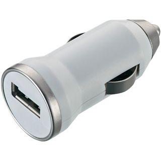 Zignum USB KFZ- Ladegerät, weiß