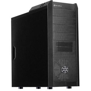 Silverstone Precision PS03 Midi Tower ohne Netzteil schwarz