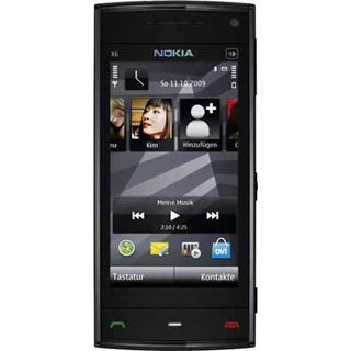Nokia X6 16 GB schwarz