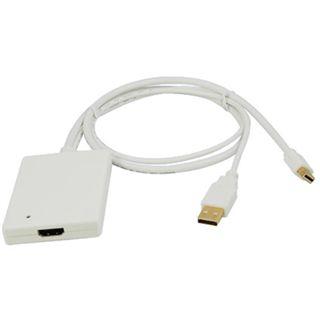LogiLink Adapter für Mini Displayport auf HDMI (CV0041)
