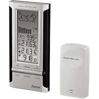 Hama Elektronische Wetterstation EWS-380, Schwarz/Silber