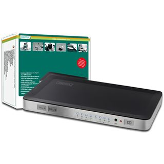 Digitus DS-48300 4-fach HDMI-Matrix-Switch 4x2