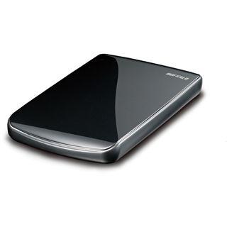 """320GB Buffalo MiniStation Lite 2.5"""" (6.35cm) Schwarz USB2.0"""