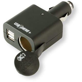 Ansmann USB2DRIVE+, KFZ Stecker