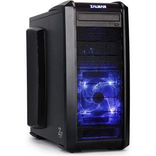 Zalman Z7 Plus Midi Tower ohne Netzteil schwarz