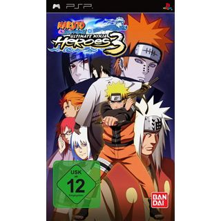 Naruto Shippuden - Ultimate Ninja Heroes 3 (PSP)