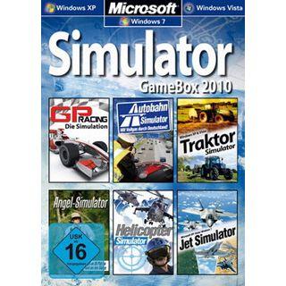 Simulator GameBox 2010 6 Simulationen (PC)