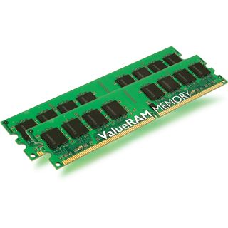 8GB Kingston ValueRAM DDR2-400 regECC DIMM CL3 Dual Kit