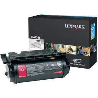 Lexmark Toner 12A8044 Schwarz