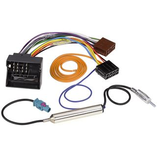 Hama KFZ-DIN-Adapter mit Phantomeinspeisung für Citroen und Peugeot