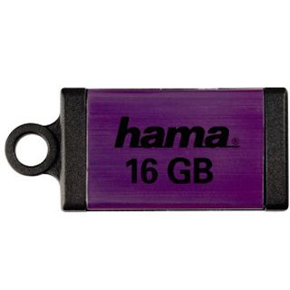 "16 GB Hama FlashPen ""Floater Micro"" lila USB 2.0"