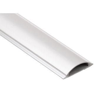 Hama Kabelkanal halbrund, 100/2,1 cm, weiß