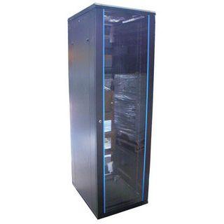 """19"""" (48,26cm) Intellinet 203692 22HE Serverschrank schwarz, 600mm tief"""