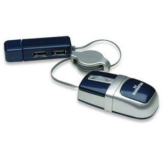 Manhattan MM5 Nano Optische Maus Grau USB