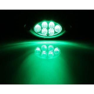 LAMPTRON 6-Cluster grün LED Kit für Gehäuse (LAMP-LED603D-R)