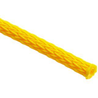 (€3,90*/1m) King Kits 1.00m Gewebeschlauch 3mm Neon Gelb