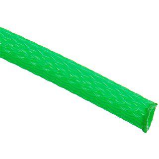 (€3,90*/1m) King Kits 1.00m Gewebeschlauch 6mm Neon Grün