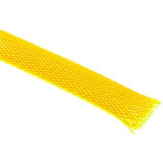 King Kits 1.00m Gewebeschlauch 13mm Neon Gelb