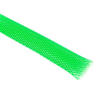 King Kits 1.00m Gewebeschlauch 13mm Neon Grün