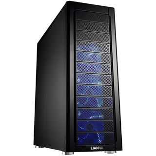 Lian Li PC-A77FB gedaemmt Big Tower ohne Netzteil schwarz