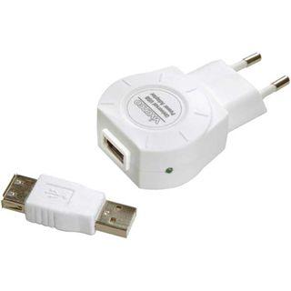 Vivanco NL701 USB-Ladegerät Weiß
