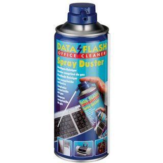 (€1,73*/100ml) Data Flash Spray Duster Drucker/PC-Gehäuse/Tastatur Druckluftreiniger 400ml Spraydose (A-90291)