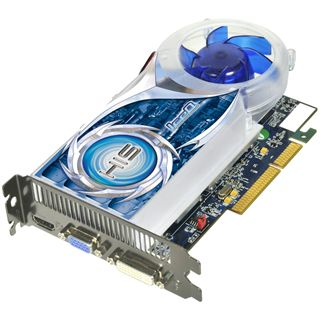 1GB HIS Radeon HD 4670 IceQ Aktiv AGP (Retail)