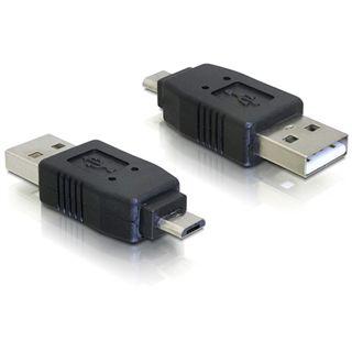 Delock Adapter USB micro-B male to USB2.0 A-male