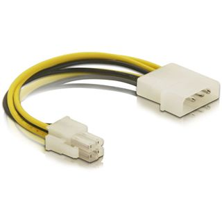 DeLOCK Kabel P4 Stecker > Molex 4pin Stecker