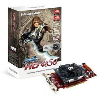 1GB PowerColor Radeon HD 4850 Aktiv PCIe 2.0 x16 (Retail)