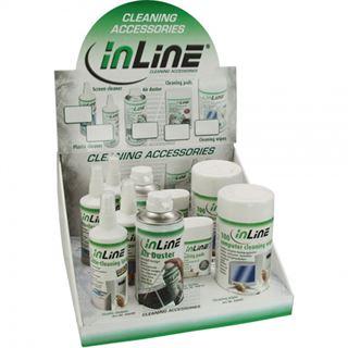 (€23,79*/1L) InLine Computer Reinigungskit 1,8L Dose/Pumpspray/Spraydose (43212)