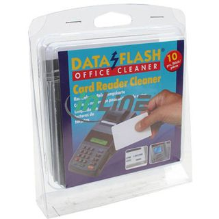 (€1,09*/1L) InLine Kartenleser Reinigungskarten 10 Stück (43219)