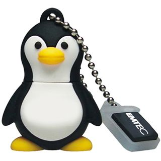 2 GB EMTEC Animals M314 Penguin schwarz/weiss USB 2.0