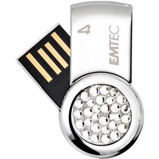 4 GB EMTEC S350 For Her silber USB 2.0