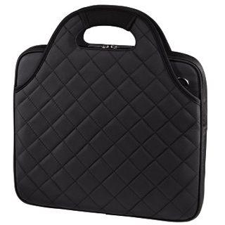 Hama Notebook-Tasche Grenoble, Displaygrößen bis 31 cm (12,1), Schwarz